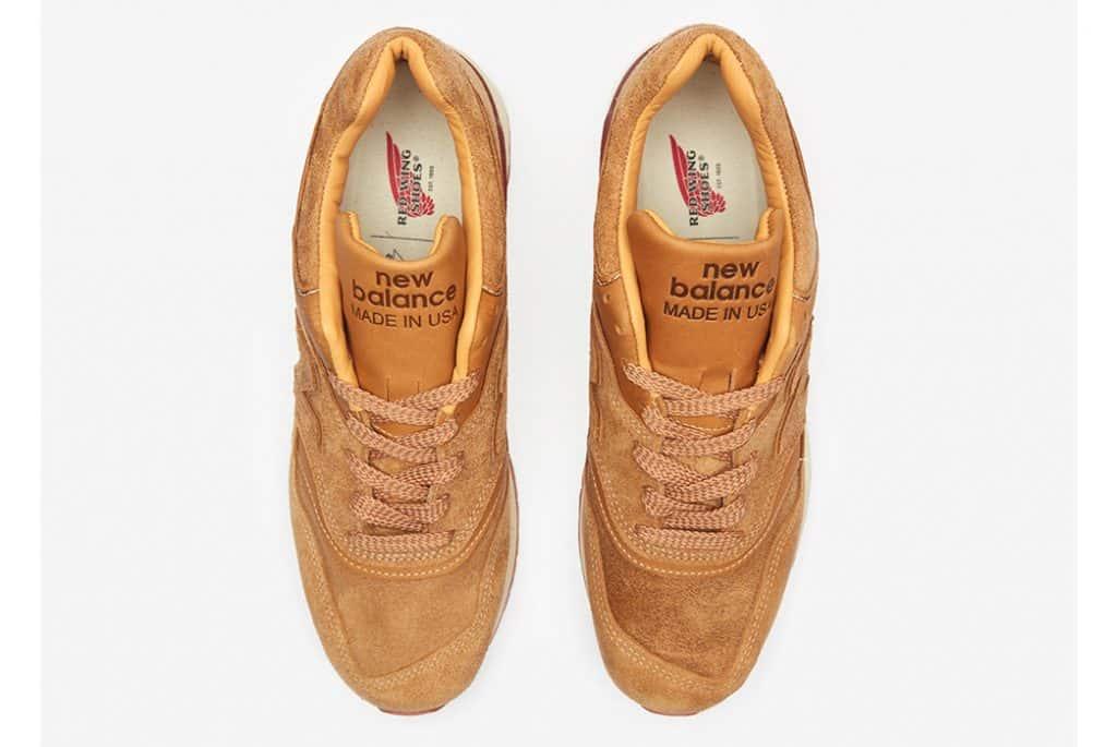 Red Wing и New Balance выпускают совместную коллекцию кроссовок