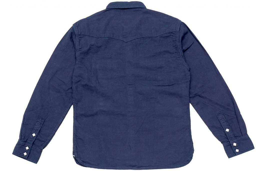 The Flat Head представил рубашку в стиле вестерн из материала добби с зади