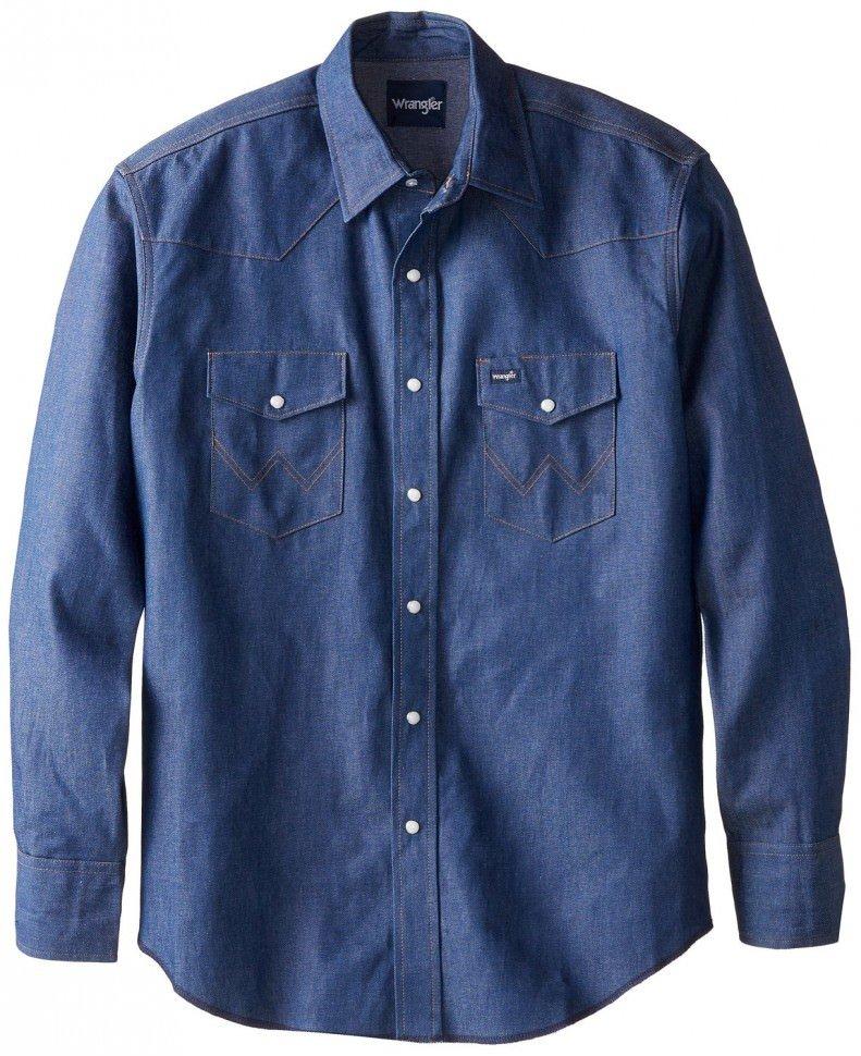 классическая ковбойская мужская рубашка Wrangler Вранглер