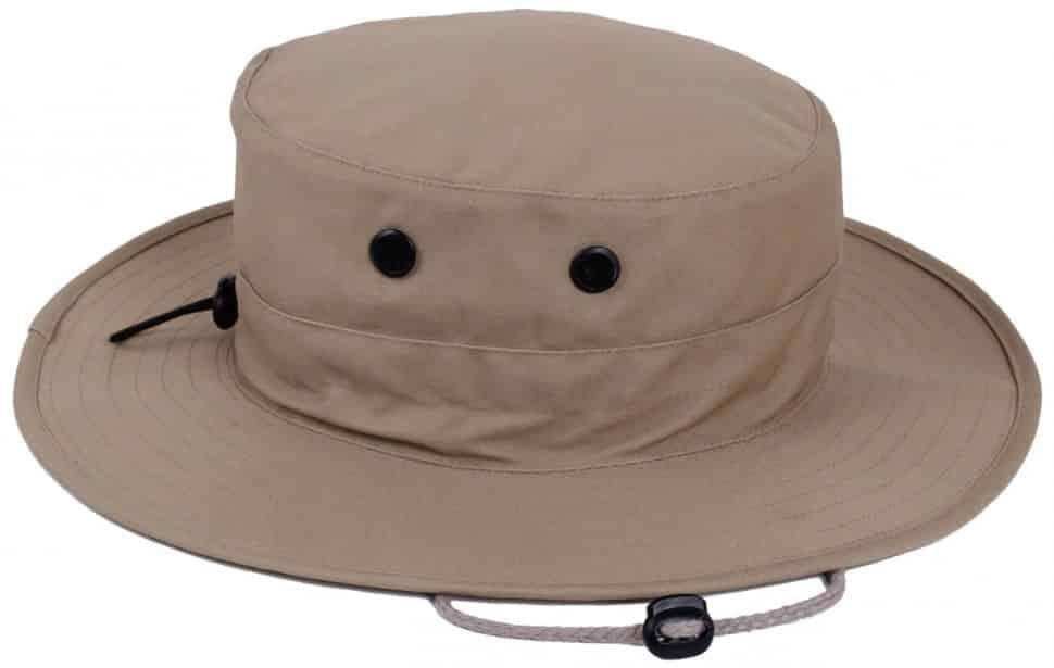 Rothco Adjustable Boonie Hat Khaki