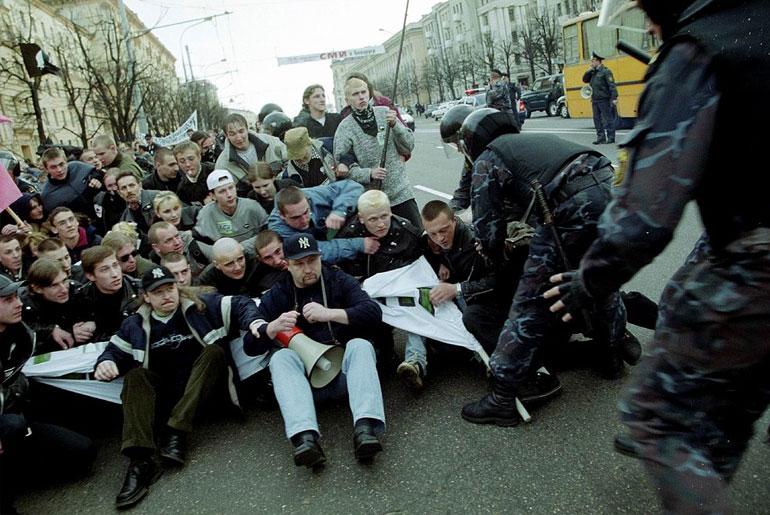 революция в Беларуси акции протеста в сентябре