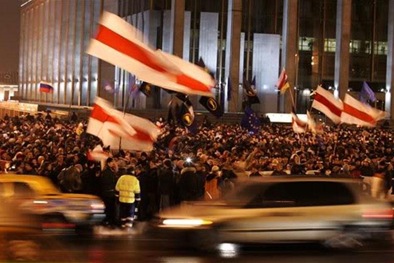 революция в Беларуси начало