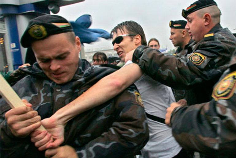 Джинсовая революция в Беларуси