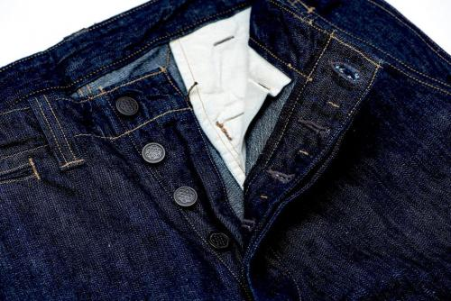 freewheelers-m-1942-9-5oz-denim-trousers-front-top-open-buttons