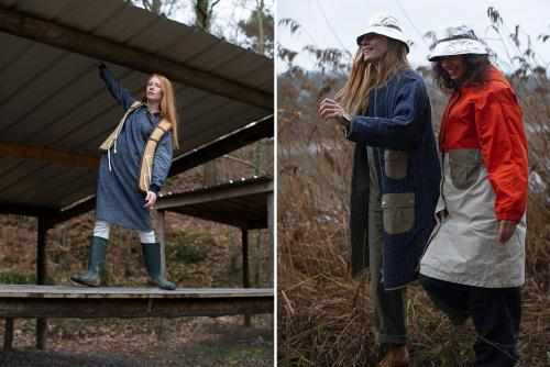 Космическая коллекция FW19 от женского бренда W'Menswear dark-blue-jacket-and-red-jacket