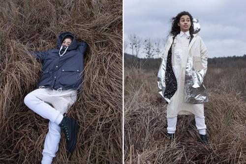 Космическая коллекция FW19 от женского бренда W'Menswear -grass