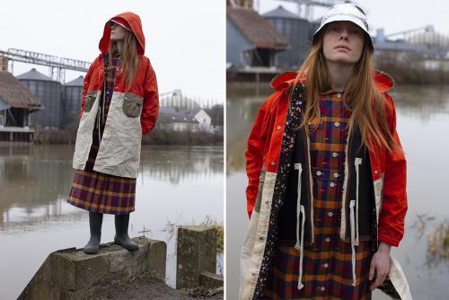 Космическая коллекция FW19 от женского бренда W'Menswear -jacket