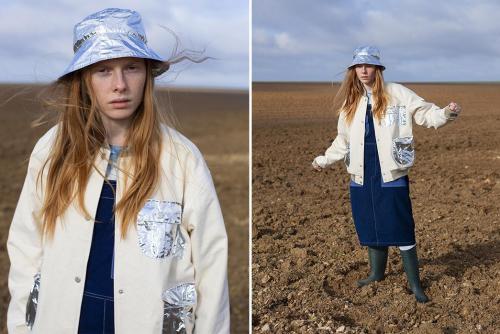 Космическая коллекция FW19 от женского бренда W'Menswear -hat