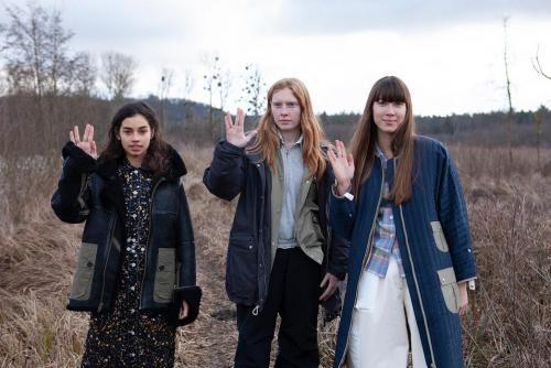 Космическая коллекция FW19 от женского бренда W'Menswear -girls