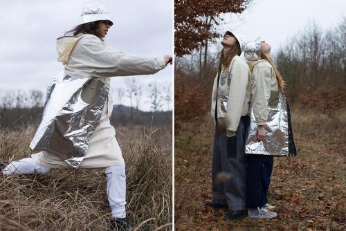 Космическая коллекция FW19 от женского бренда W'Menswear-jackets